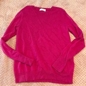 Everlane cashmere sweater, size L